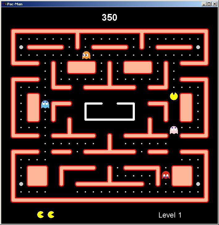 Michael Fogleman: Pac-Man